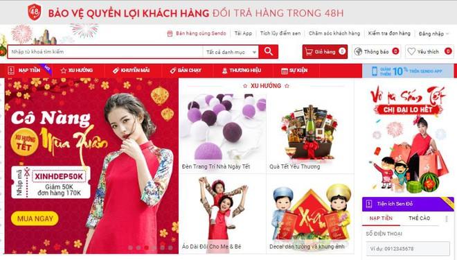 Sendo.vn: Cảnh báo lừa đảo khi mua hàng online  - Ảnh 1.