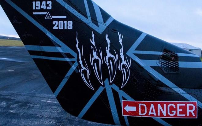 """Chùm ảnh chuyến bay """"giã từ binh nghiệp"""" của trực thăng Lynx ở Anh - Ảnh 3."""
