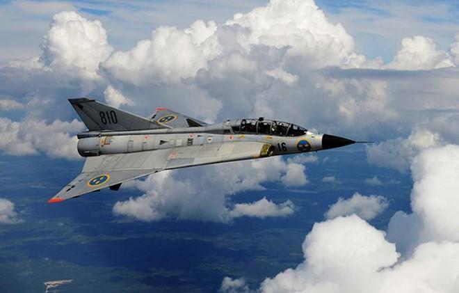 """Saab 35 Draken: """"Rồng sắt"""" đáng sợ của Không quân Thụy Điển - Ảnh 3."""