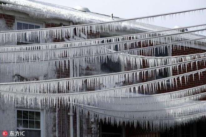Nước Mỹ giảm nhiệt lạnh hơn sao Hỏa: Những hình ảnh đáng sợ về mùa đông nước Mỹ cận kề ngày đón bom bão tuyết - Ảnh 4.