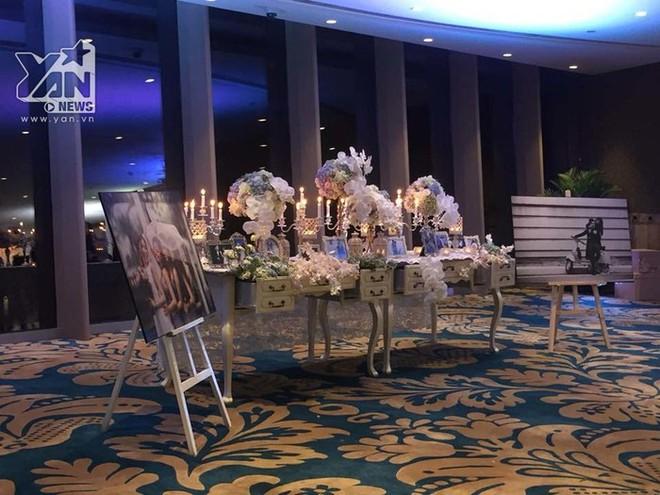 Không gian đám cưới lung linh của em gái Trấn Thành và bạn trai người Hồng Kông - Ảnh 3.
