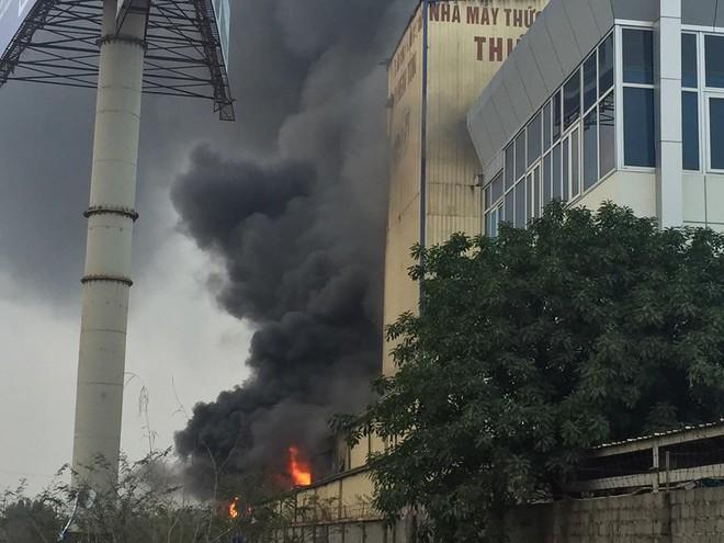 Cháy lớn kinh hoàng, khói bốc cao hàng chục mét tại Hải Dương - Ảnh 3.