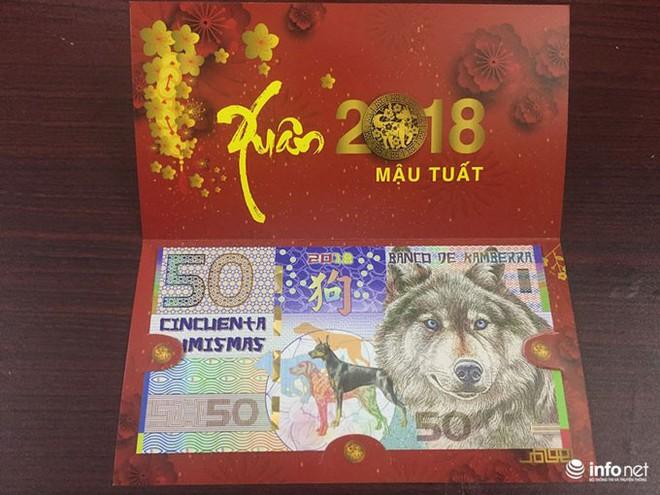 """Đua nhau """"săn"""" tiền lưu niệm hình linh vật Xuân Mậu Tuất 2018 - Ảnh 4."""