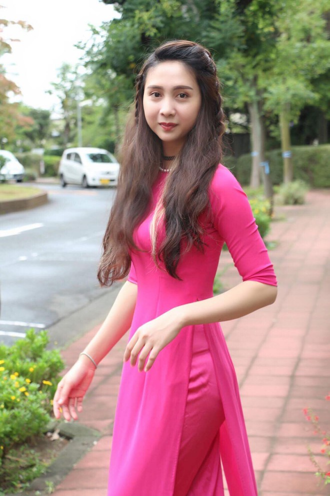 Nhan sắc của nữ du học sinh Việt xinh đẹp nhất Nhật Bản 2017 - Ảnh 5.