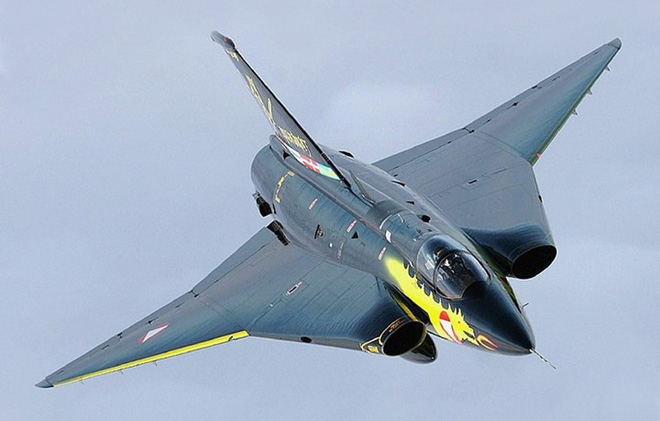 """Saab 35 Draken: """"Rồng sắt"""" đáng sợ của Không quân Thụy Điển - Ảnh 6."""