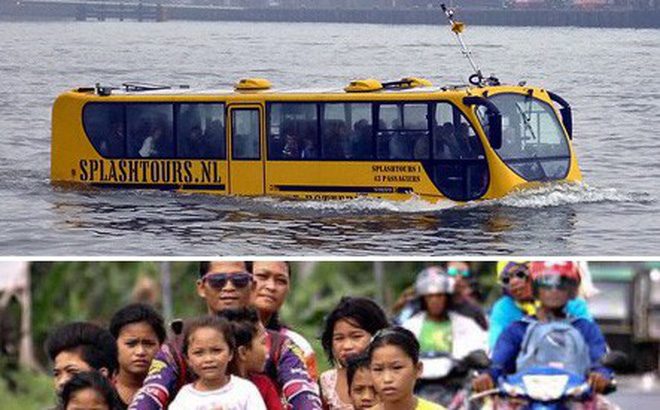 15 phương tiện giao thông độc nhất vô nhị vòng quanh thế giới, Việt Nam cũng có một cái