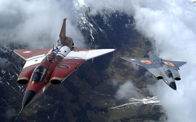 """Saab 35 Draken: """"Rồng sắt"""" đáng sợ của Không quân Thụy Điển"""