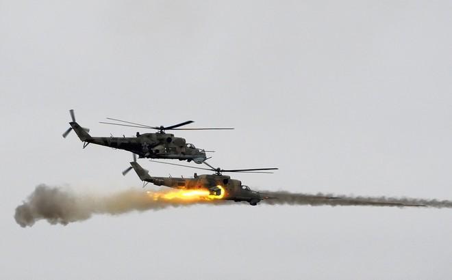 Trực thăng tấn công Mi-24 Nga rơi ở Syria: Tin vừa được xác nhận chính thức