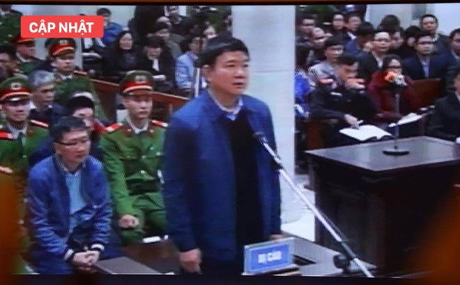 [CẬP NHẬT] Bắt đầu xét xử ông Đinh La Thăng, Trịnh Xuân Thanh và đồng phạm