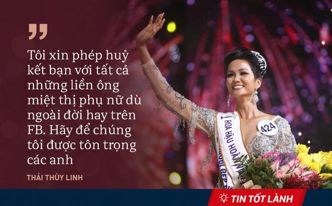 """TIN TỐT LÀNH 8/1: Tân Hoa hậu H'Hen Niê bị """"ném đá"""" và lời hứa của ông chủ Facebook"""
