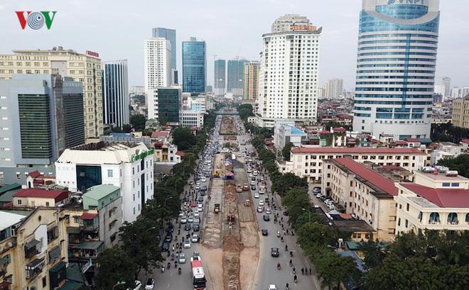 Toàn cảnh đại công trường mở rộng đường đẹp nhất Việt Nam