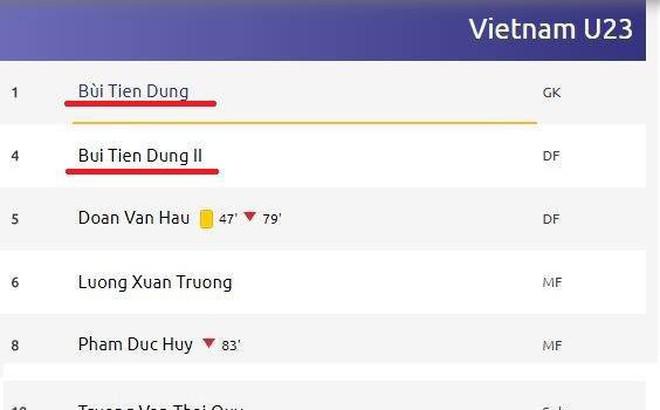 Đến AFC cũng bối rối trước tên cầu thủ U23 Việt Nam