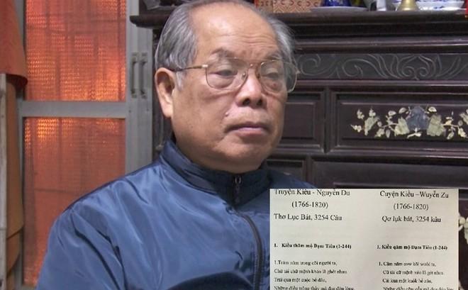 """PGS-TS Bùi Hiền chuyển thể """"Truyện Kiều"""" sang ngôn ngữ """"Tiếw Việt"""""""