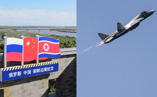 50 máy bay Nga tập trận bắn đạn thật gần biên giới Trung - Triều