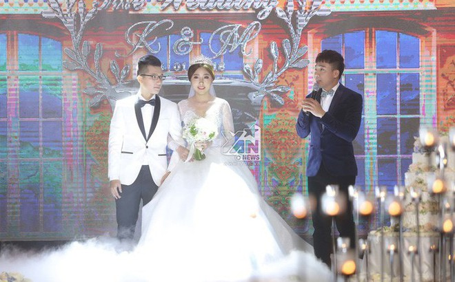 Không gian đám cưới lung linh của em gái Trấn Thành và bạn trai người Hồng Kông