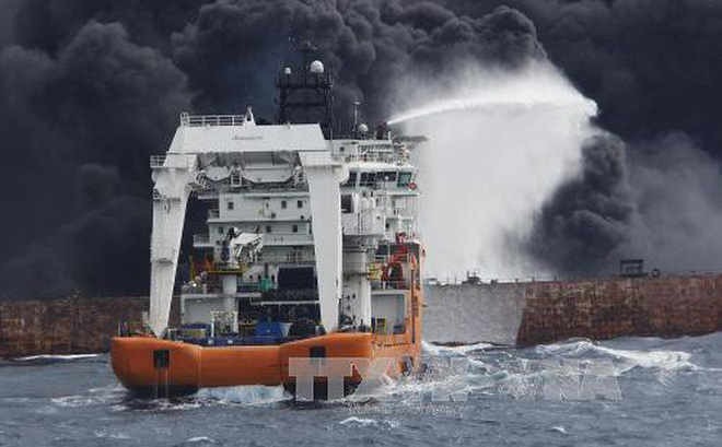 Tàu chở dầu Iran phát nổ, không có hy vọng thủy thủ nào sống sót