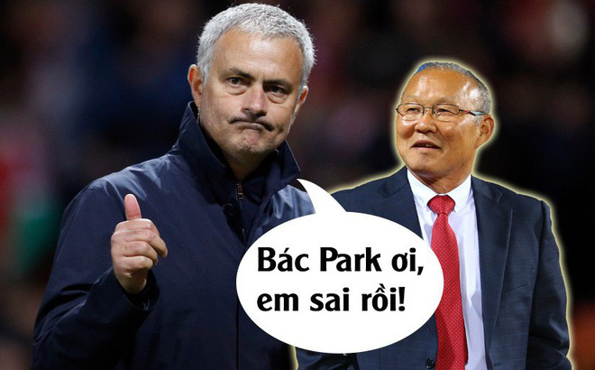 """Vui sướng tột độ, Mourinho gửi tâm thư mời HLV Park Hang-seo sang """"trao đổi chiêu thức"""""""