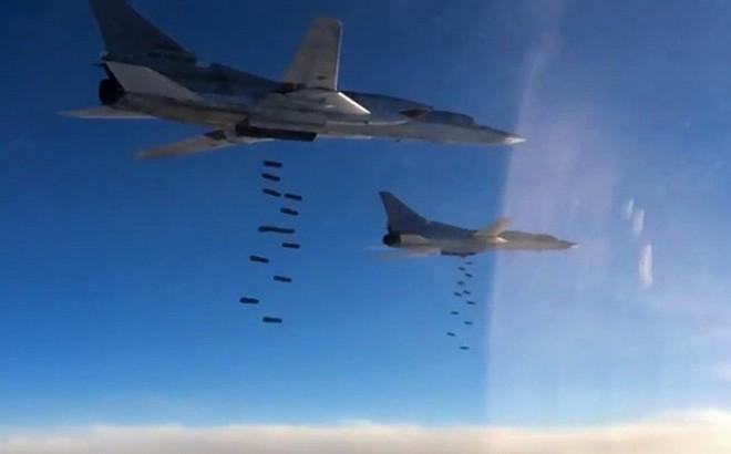Tu-22M3 KQ Nga lại xung trận, ồ ạt dội bom hủy diệt phiến quân ở Idlib, Syria-Rất mạnh tay