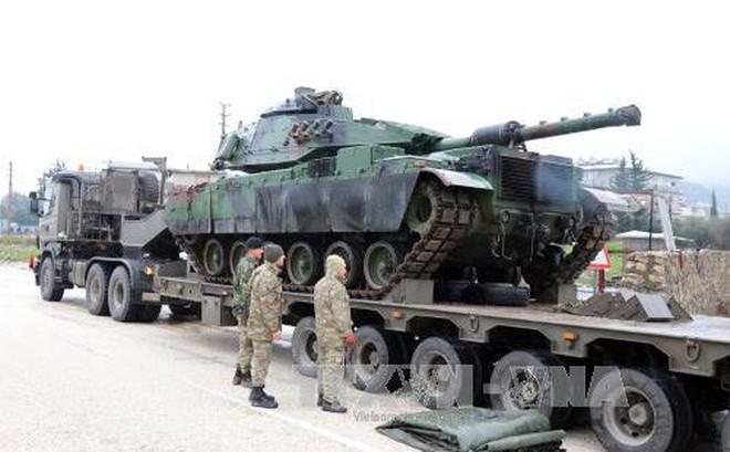 Thổ Nhĩ Kỳ bắt đầu chiến dịch tấn công khu vực người Kurd ở Syria