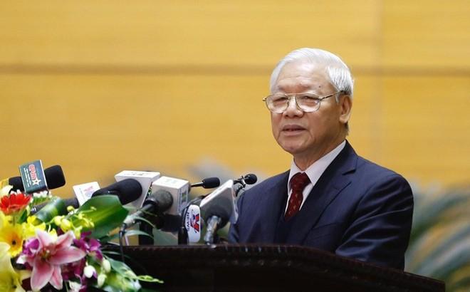 Tổng Bí thư: Kiên quyết chống tham nhũng, tiêu cực trong công tác cán bộ