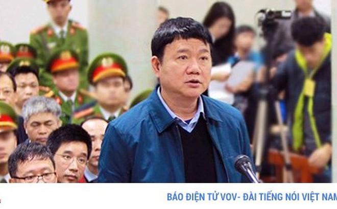 Mức án dành cho ông Đinh La Thăng chứng minh không có vùng cấm