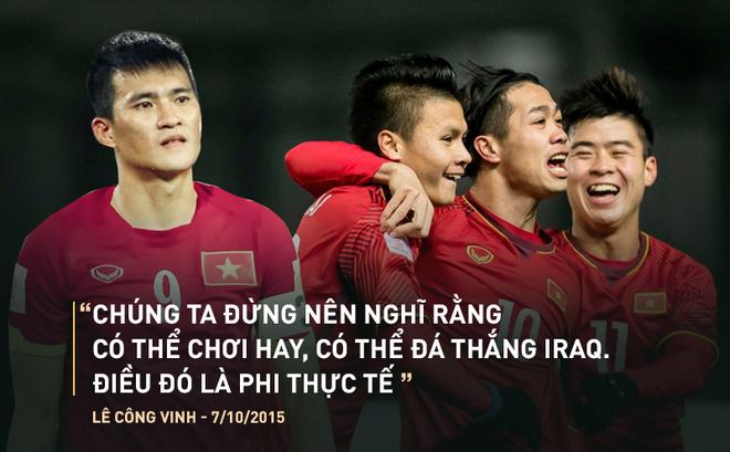 Dưới cái bóng chiến công của U23 Việt Nam, đừng tự ti như thế Công Vinh ạ!
