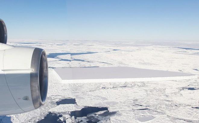 Bằng cách nào mà NASA tìm ra tảng băng vuông chằn chặn thế này hả?
