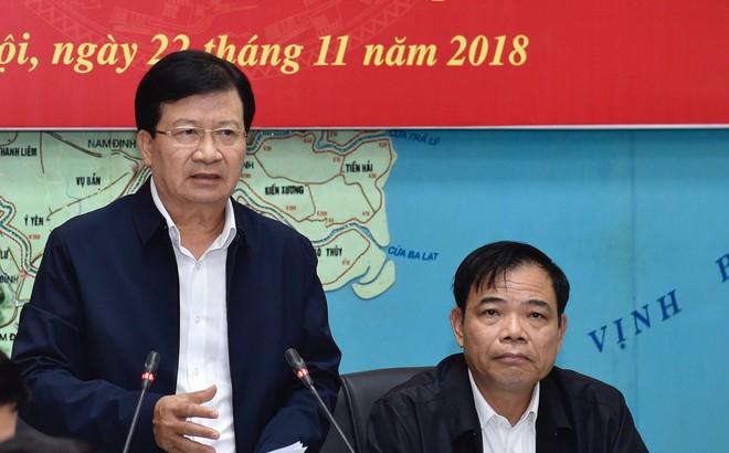 Phó Thủ tướng: Tuyệt đối không chủ quan với bão số 9