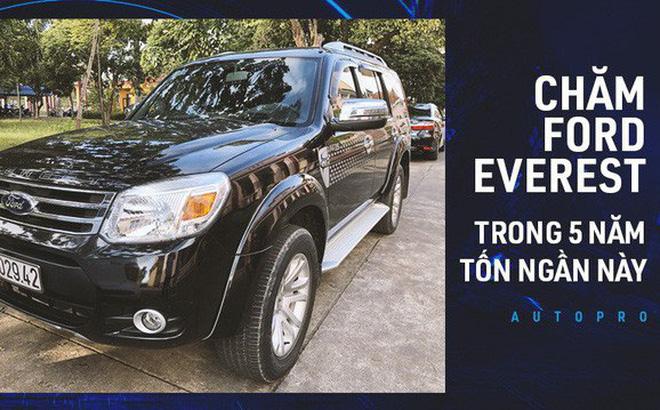 """""""Nuôi"""" xe 5 năm, lăn bánh gần 110.000 km khắp cả nước, người dùng tiết lộ độ """"trâu"""" của Ford Everest đời cũ"""