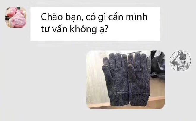 """Mua găng tay qua mạng vớ phải hai chiếc cùng bên trái, khách hàng cạn lời vì độ """"nhây"""" của chủ shop online"""