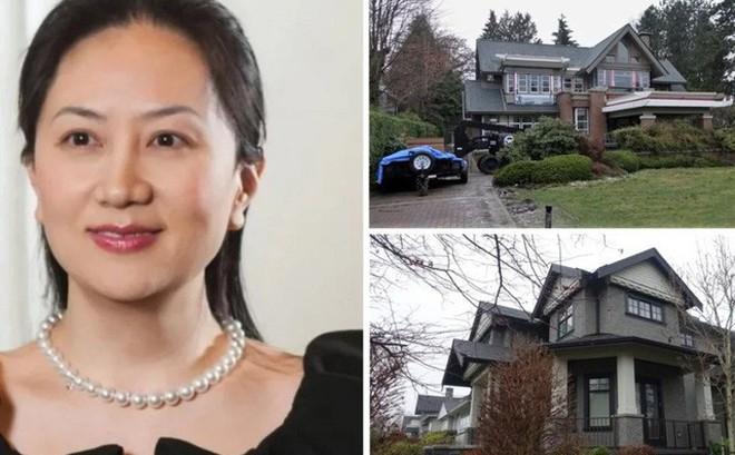 Giám đốc tài chính Huawei đưa 2 căn biệt thự 'triệu đô' vào yêu cầu tại ngoại
