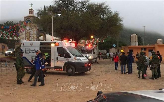 Ít nhất 60 người thương vong trong vụ nổ pháo hoa kinh hoàng ở Mexico