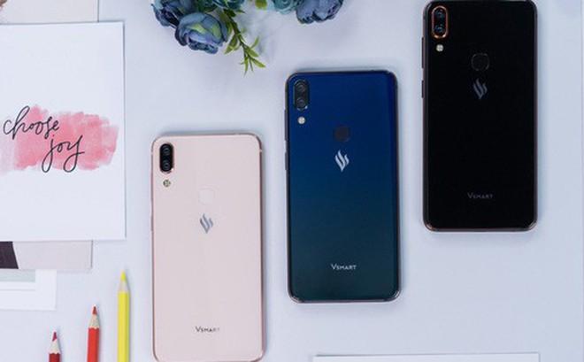 Smartphone Vsmart ra mắt với giá từ 2.5 đến 6.3 triệu, cạnh tranh trực tiếp với điện thoại Trung Quốc
