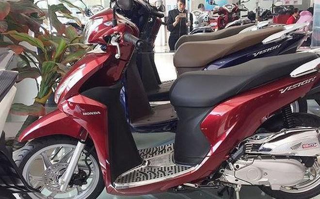 """Đại lý """"thổi"""" giá xe máy, Honda Việt Nam không liên quan?"""