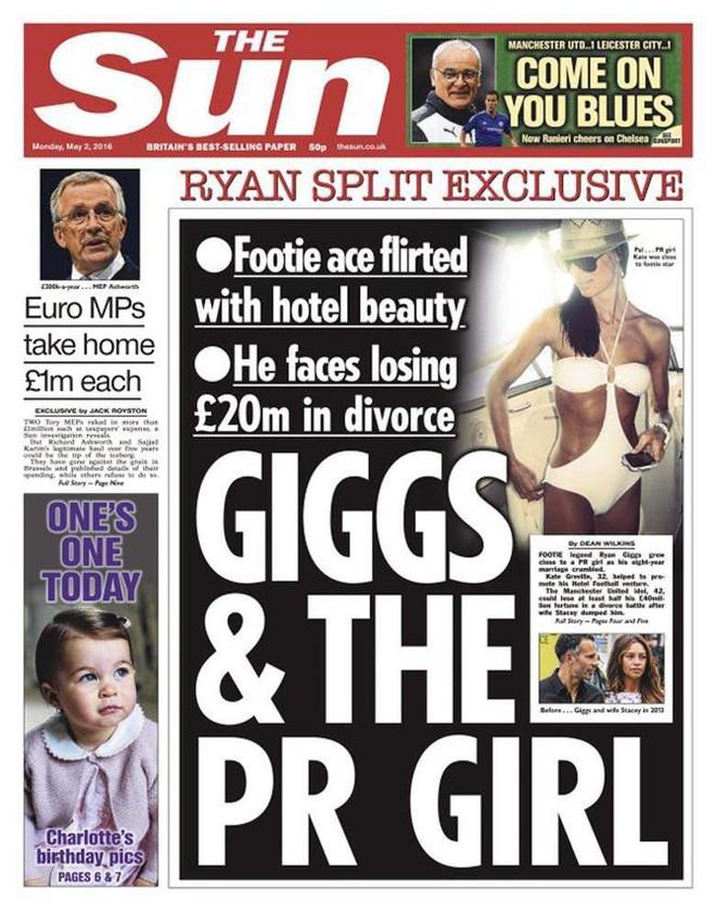 Nghi án dan díu tình cũ Ronaldo chưa kịp nguội, Ryan Giggs đã khoe gái mới - Ảnh 2.