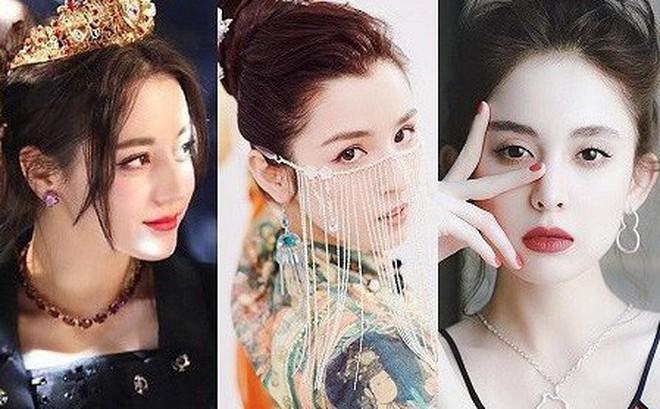 Đọ nhan sắc 4 mỹ nhân Tân Cương gây sốt showbiz Hoa ngữ