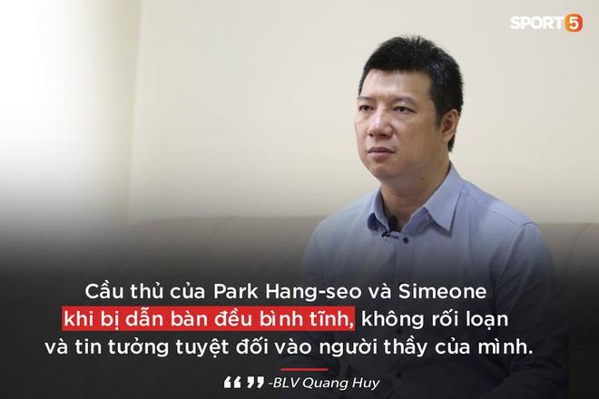 BLV Quang Huy: Tôi mong ông Park gắn bó lâu dài để biến Việt Nam thành đế chế như Diego Simeone - Ảnh 2.