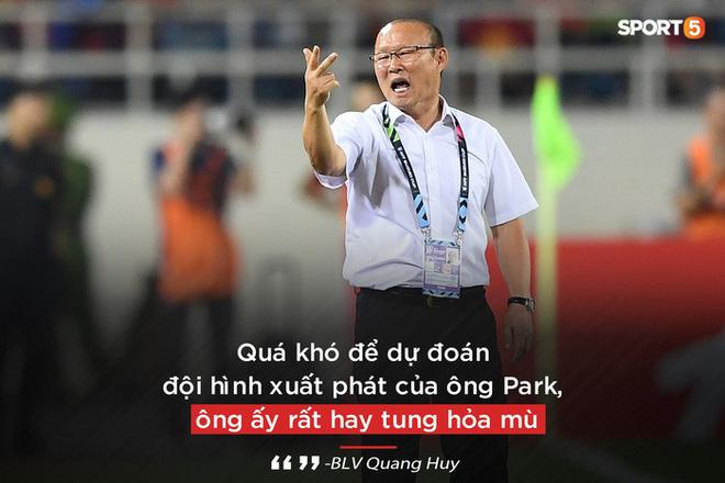BLV Quang Huy: Tôi mong ông Park gắn bó lâu dài để biến Việt Nam thành đế chế như Diego Simeone - Ảnh 5.