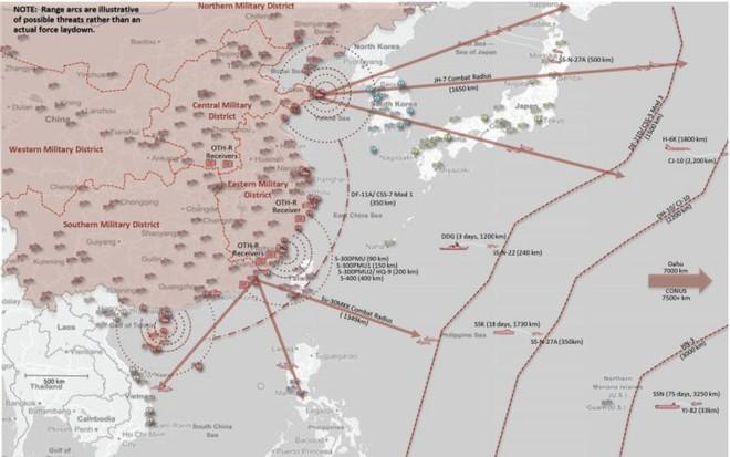 Nếu Trung Quốc bắn cùng lúc 600 quả đạn, nhóm tàu sân bay Mỹ có đỡ nổi không? - Ảnh 1.