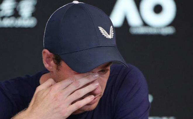 Mắt đẫm lệ, Andy Murray nói về quyết định giã từ sự nghiệp quần vợt