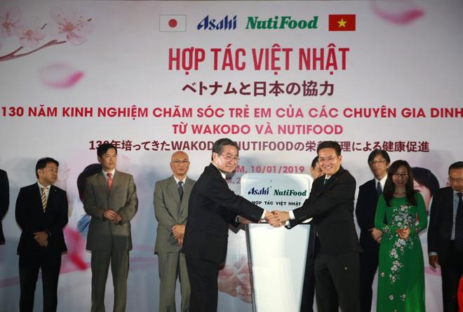 NutiFood hợp tác cùng Tập đoàn Asahi đưa các sản phẩm dinh dưỡng trẻ em Nhật Bản vào thị trường Việt - Ảnh 1.