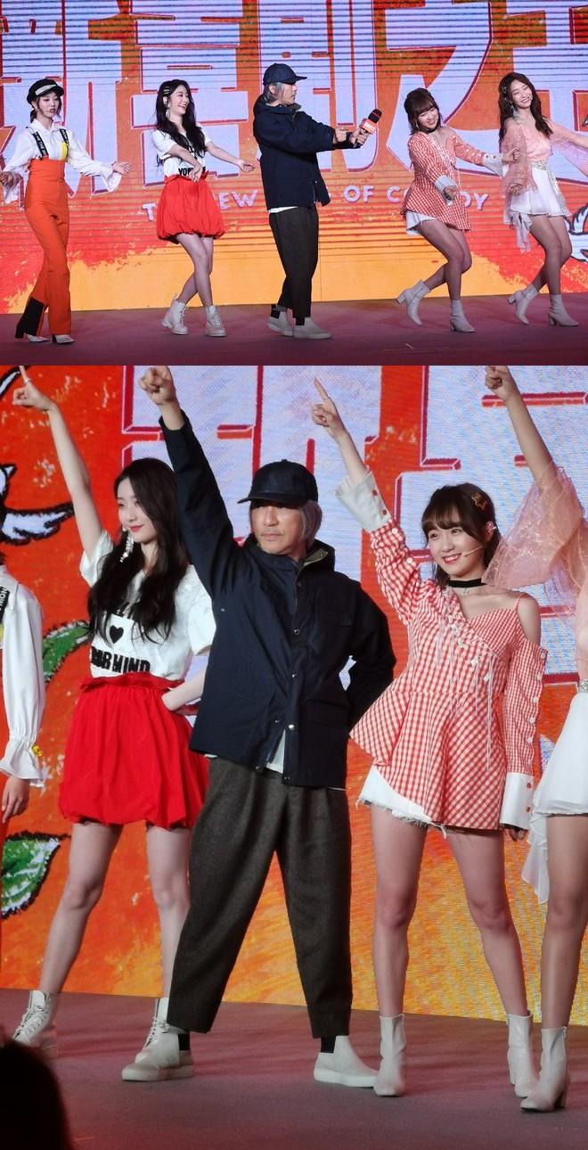 Châu Tinh Trì bất ngờ xuất hiện, nhảy múa với dàn mỹ nữ 9x - Ảnh 2.