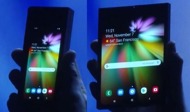 Để đủ sức nuôi 2 màn hình, smartphone gập của Samsung sẽ có 2 viên pin? - Ảnh 1.