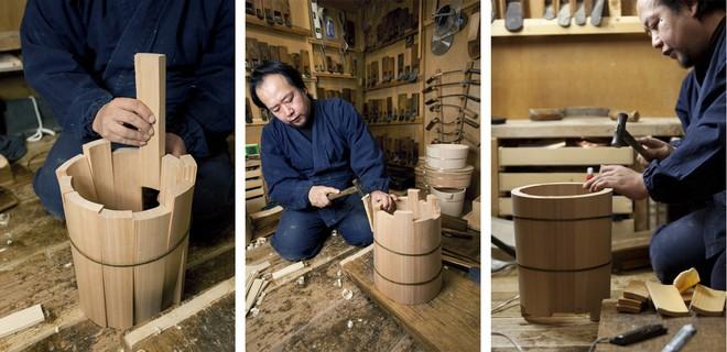Chiếc xô gỗ tưởng đơn giản mà có giá nghìn đô và câu chuyện hồi sinh ngành thủ công của nghệ nhân Nhật Bản - Ảnh 2.