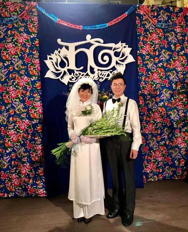 MC Thảo Vân đăng ảnh làm cô dâu, Công Lý phản ứng đầy bất ngờ - Ảnh 1.