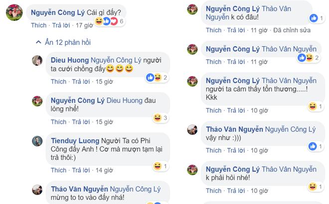 MC Thảo Vân đăng ảnh làm cô dâu, Công Lý phản ứng đầy bất ngờ - Ảnh 2.