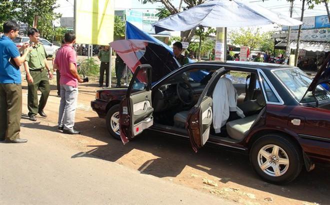 Bình Phước: Điều tra vụ xe ô tô Phó phòng Pháp chế Chi cục Kiểm lâm tỉnh bị cài mìn - Ảnh 1