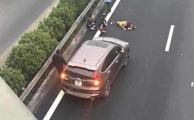 Công an từng nhắc nhở người đàn ông đi bộ qua đường cao tốc bị xe 7 chỗ tông tử vong