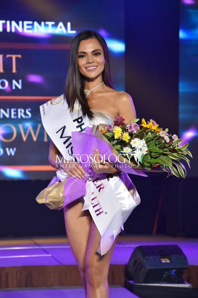 Lê Âu Ngân Anh diễn bikini sexy trong đêm thi quan trọng đầu tiên của Miss  Intercontinental - Ảnh 6.