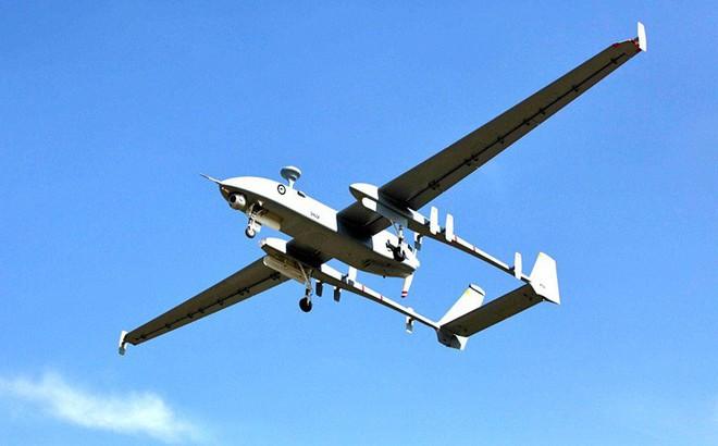Máy bay không người lái Heron của Israel. Ảnh: Fight Global